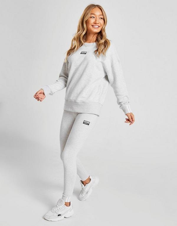 Acherter Gris adidas Originals Sweat shirt R.Y.V. Crew Femme