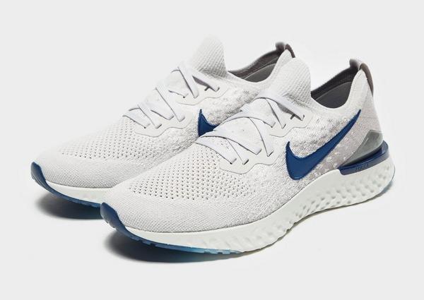 Køb Nike Epic React Flyknit 2 Herre i Grå | JD Sports