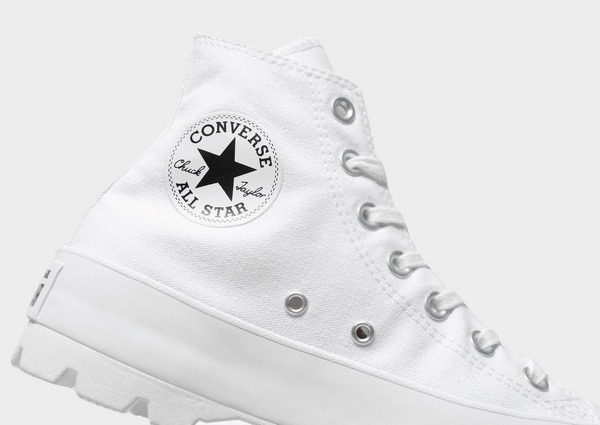 Womens Converse Chuck Taylor All Star Hi Lugged Sneaker White