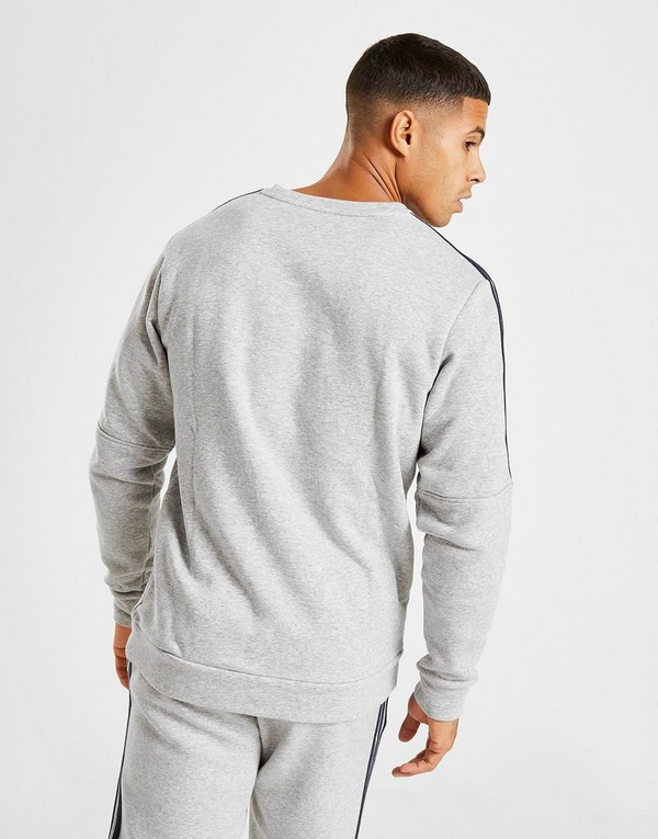 Shop den adidas Essential Crew Neck Sweatshirt in Grau | JD