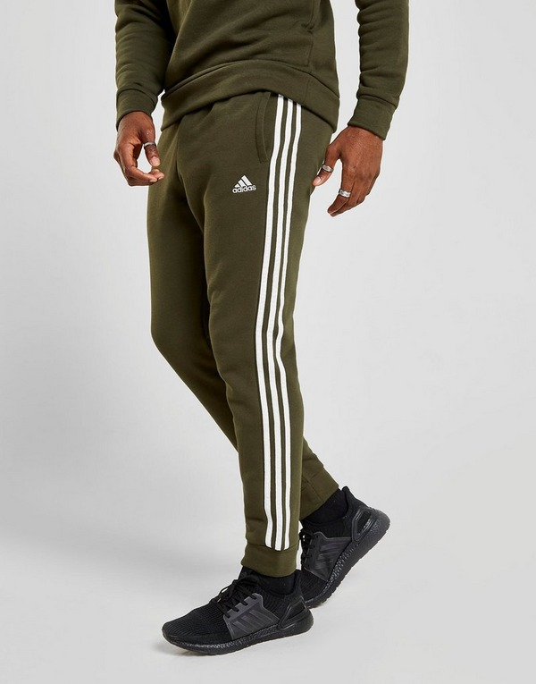Koop Groen adidas Essentials 3 Stripes Trainingsbroek Heren