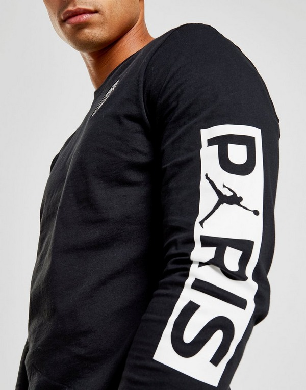 Jordan x Paris Saint Germain Long Sleeve T-Shirt