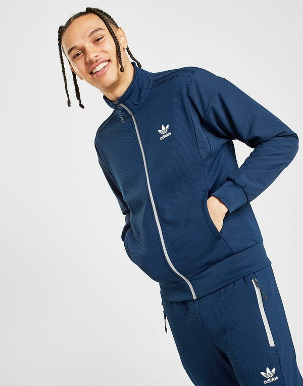 Koop Blauw adidas Originals Street Track Top Heren | JD Sports