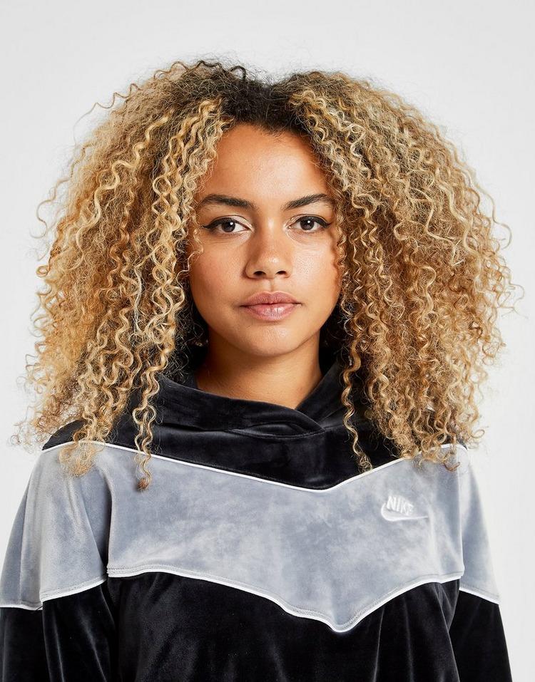 Nike Sweat à capuche Heritage Velours Femme