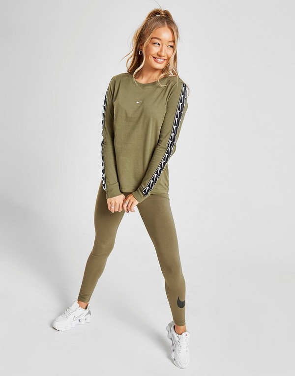 Nike T-Shirt Tape Manches Longues Femme