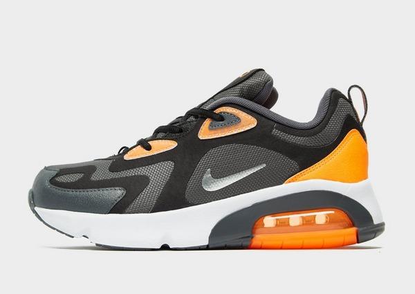 air max 200 noir et orange