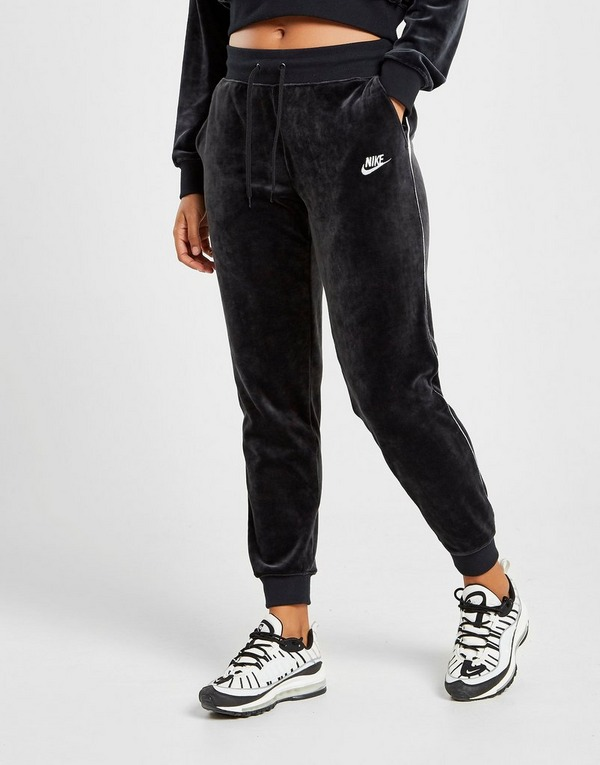 Køb Nike Heritage Velvet Træningsbukser Dame i Sort   JD Sports