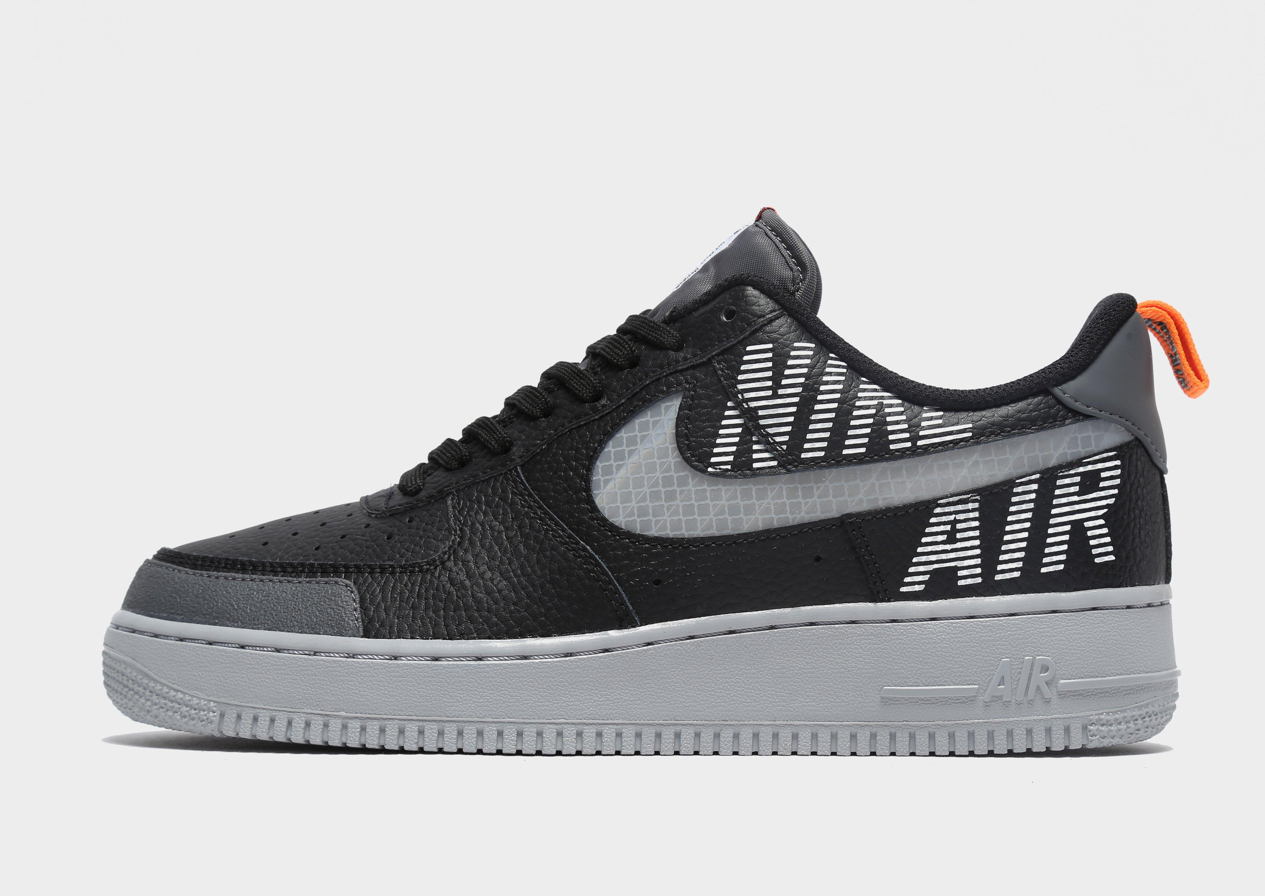 nike air force 1 black grey