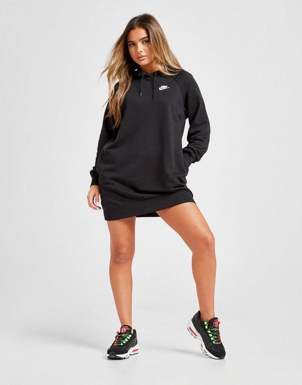 Koop Zwart Nike Essential Overhead Hoodie Dress Dames | JD