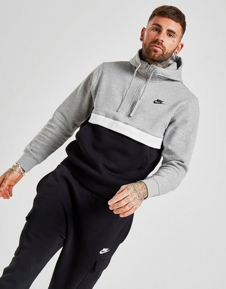 famous brand footwear official site Nike Foundation Half Zip Hoodie | JD Sports