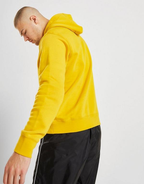 Shop den Nike Foundation Overhead Hoodie in Gelb | JD Sports