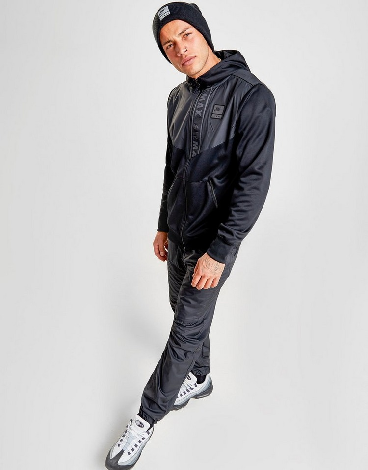 Nike Air Max Men's 12 Zip Hoodie Black | Products in 2019