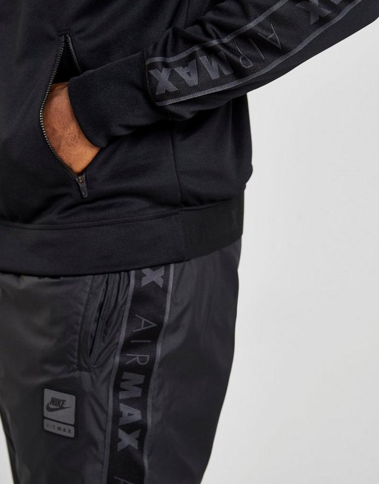 Shop den Nike Air Max Tape Trainingsjacke Herren in Schwarz