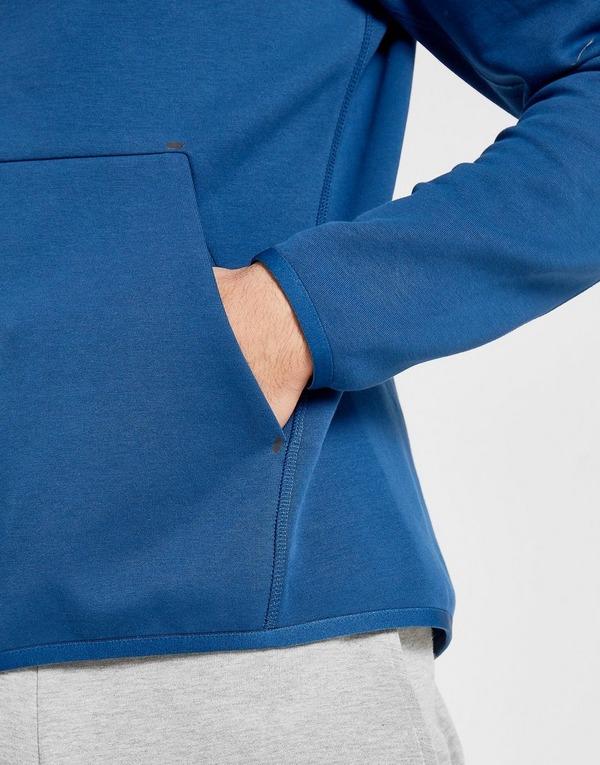 Køb Nike Tech Fleece Windrunner Hoodie Herre i Blå | JD Sports
