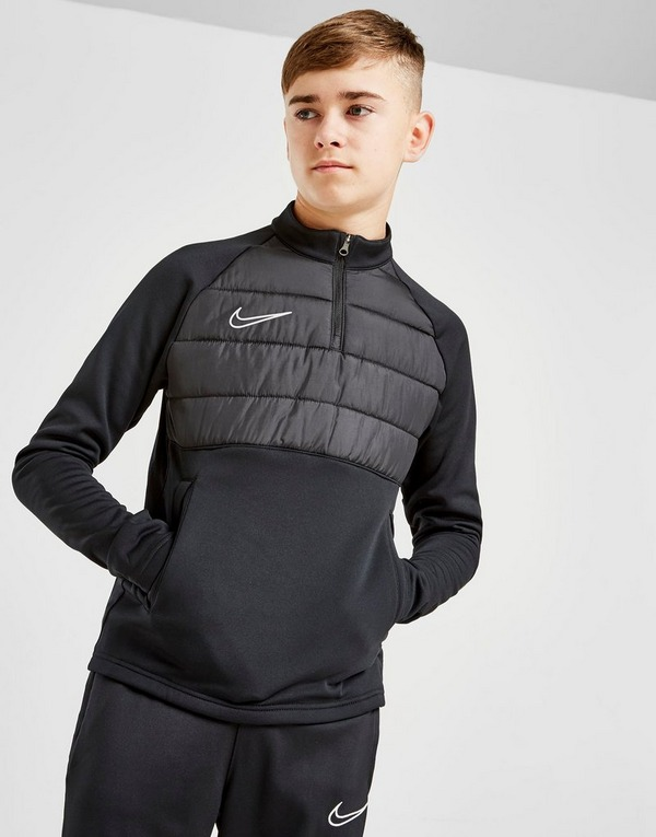 Nike Academy Overlay 1/4 Zip Drill Top Junior