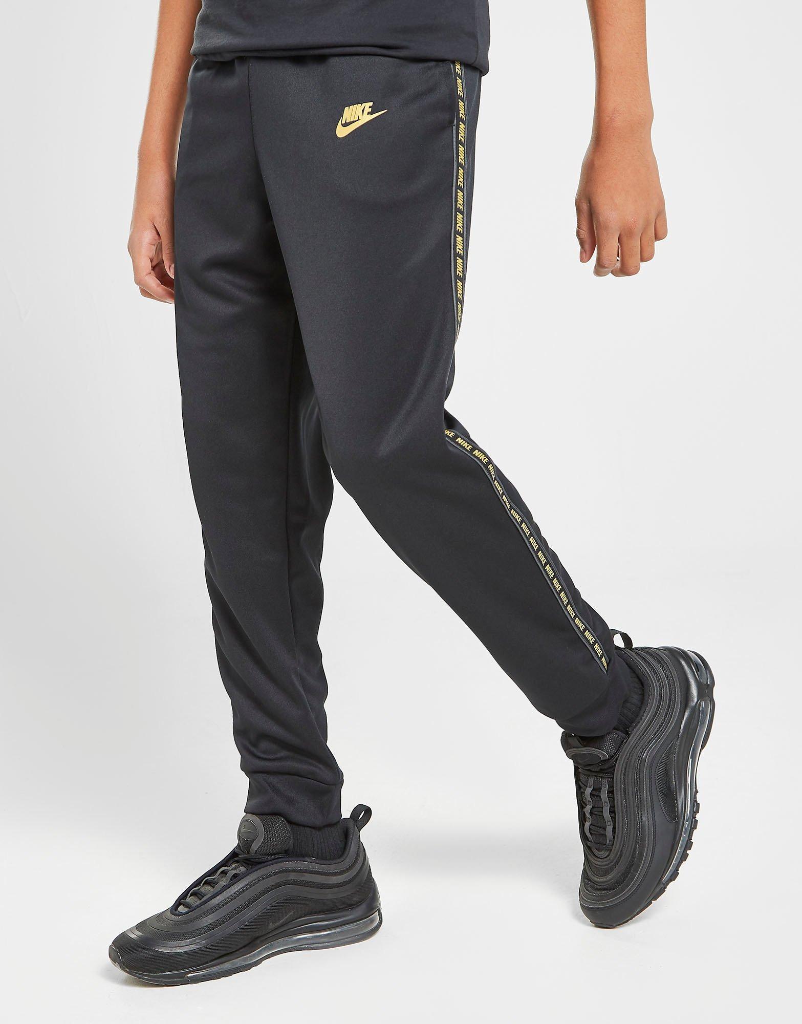 emparedado explotar Ejemplo  Buy Nike Tape Poly Track Pants Junior | JD Sports