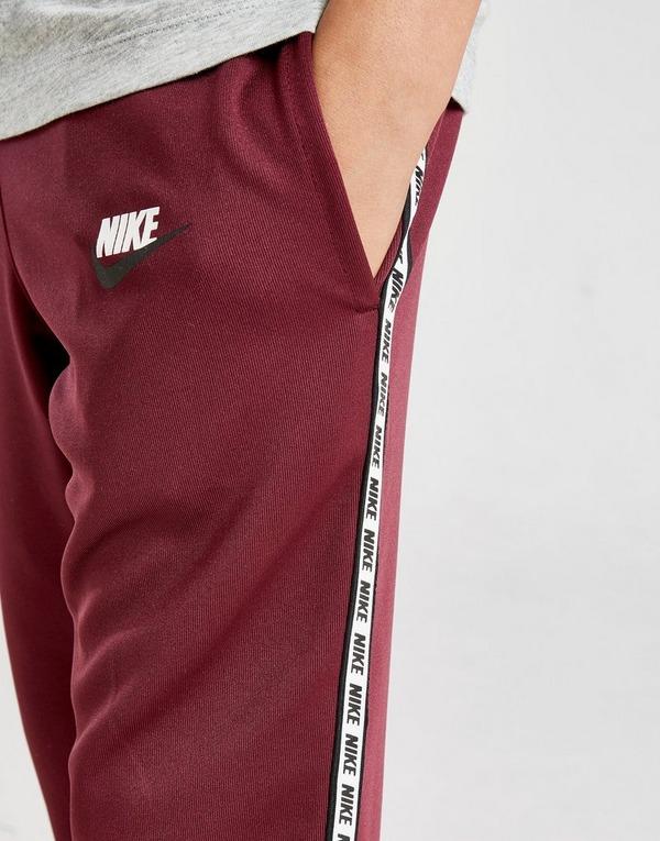 nike sportswear survêtement taped pull poly