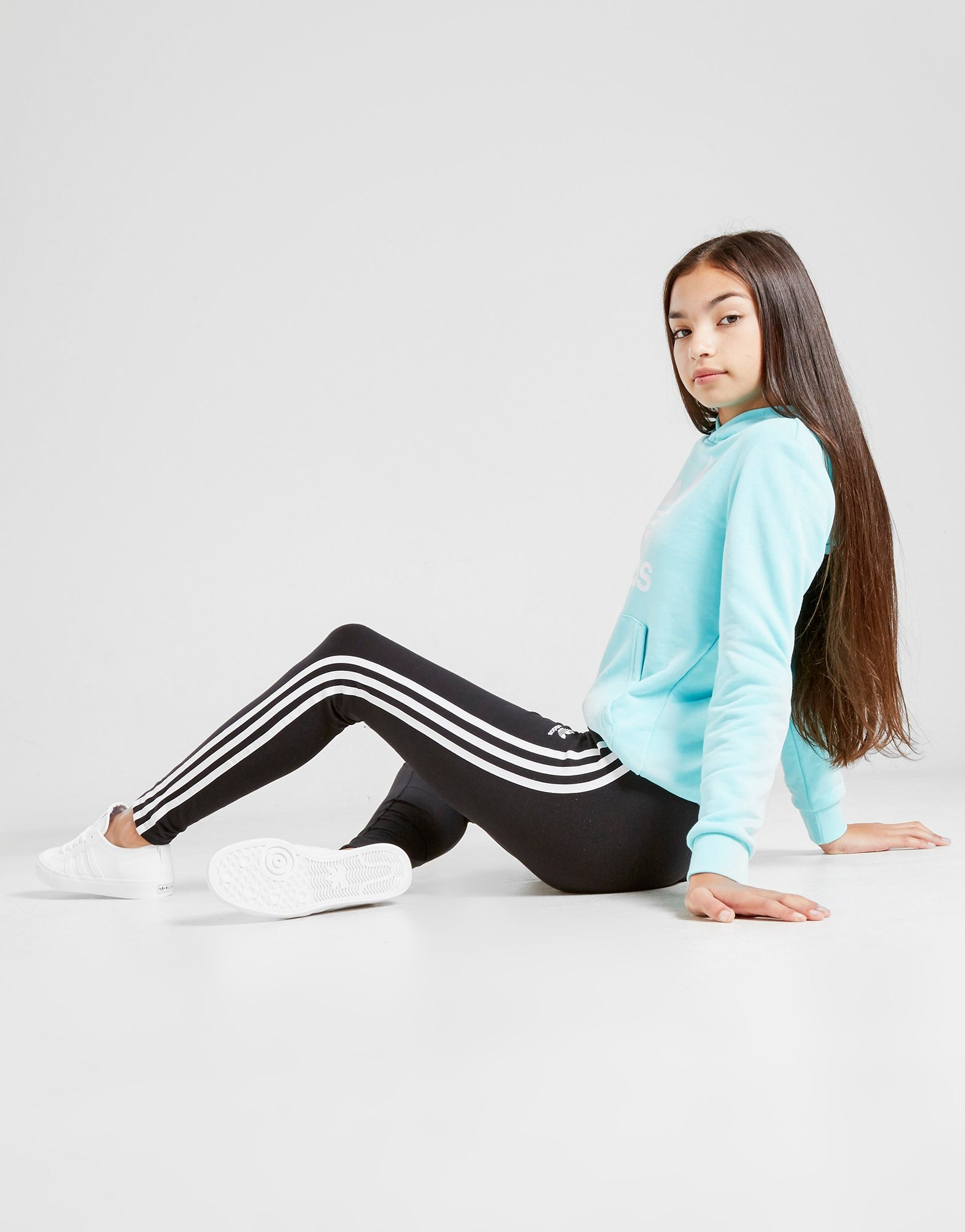 adidas leggings with stripes