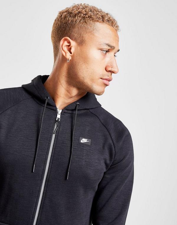 Shop den Nike Optic Full Zip Hoodie in Black   JD Sports