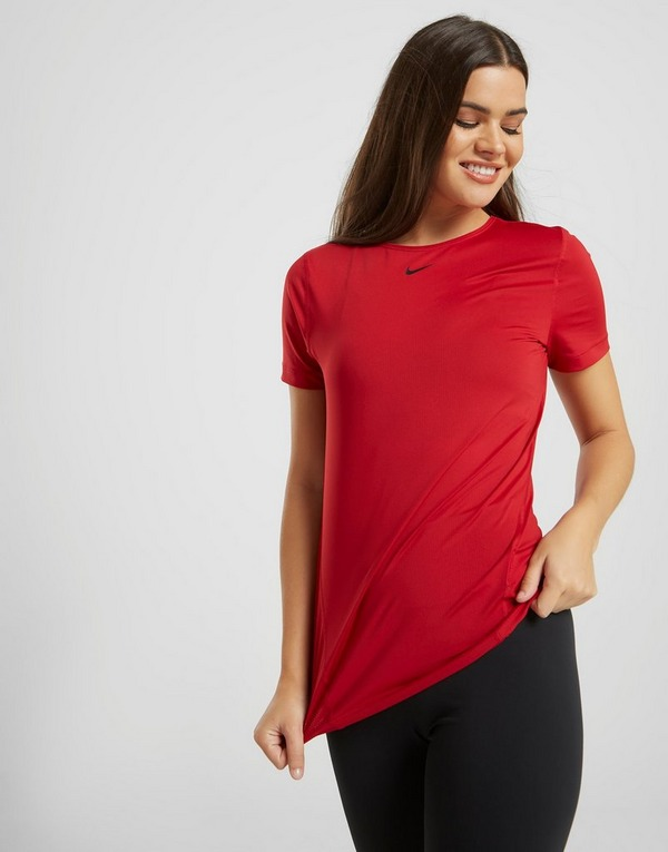 Nike Pro Short Sleeve Training T Shirt Dames
