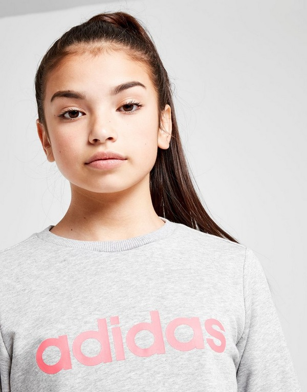 adidas Sweat-shirt Fille Linear Crew Junior