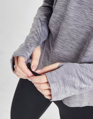 lo último Excelente calidad marca famosa Nike camiseta de manga larga Running Pacer | JD Sports
