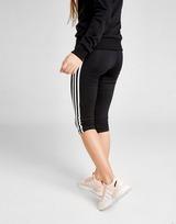 adidas Girls' Training 3-Stripes Capri Leggings Junior