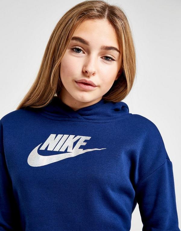 Nike Sweat à capuche Fille Shine Crop Junior