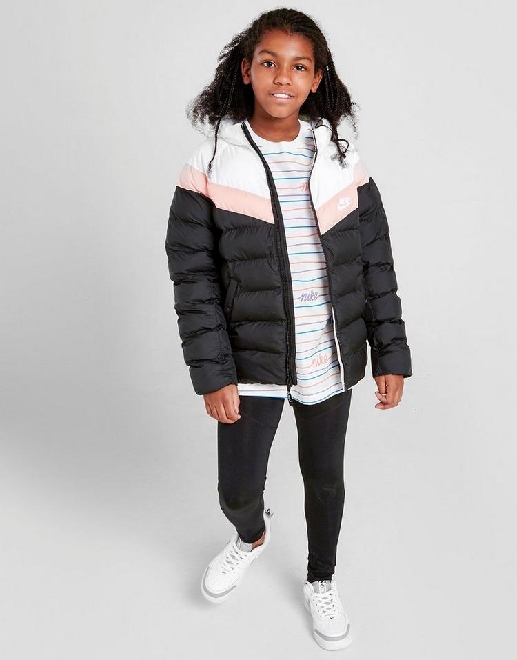 Nike Girls' Sportswear Colour Block Jacket Junior