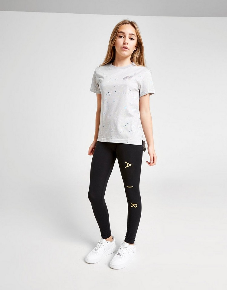 Nike Girls' Shine All Over Print T-Shirt Junior