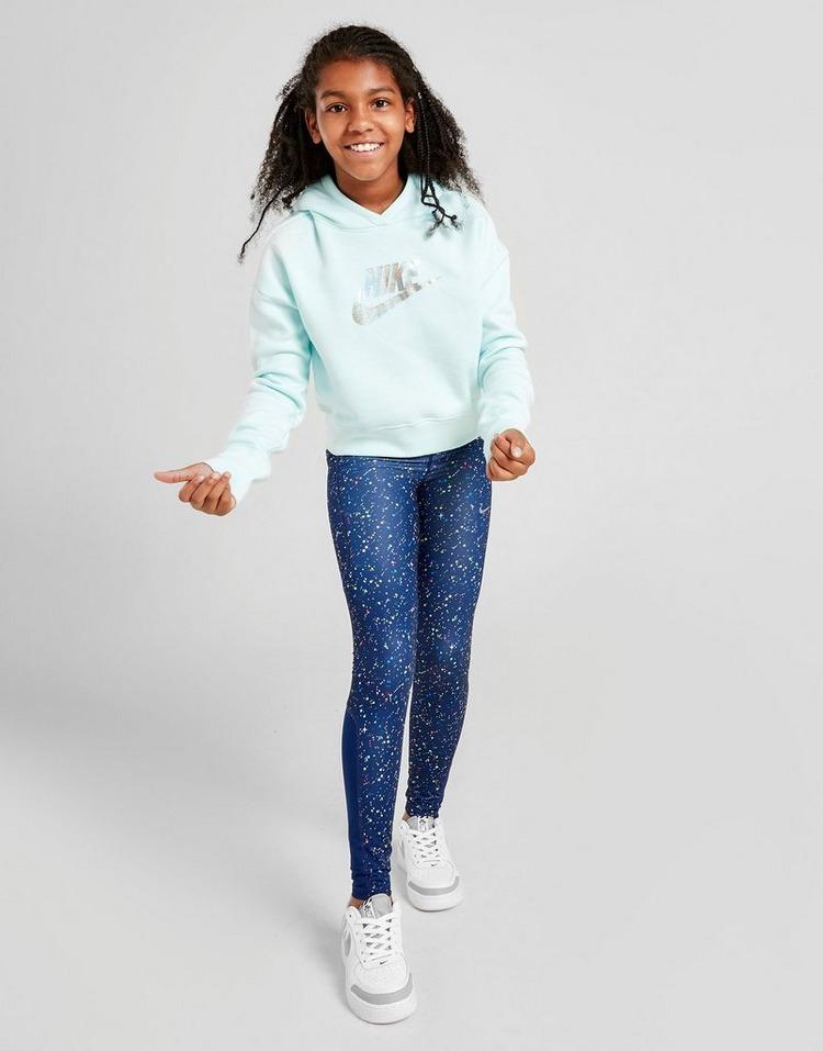 Nike Girls' Shine Crop Overhead Hoodie Junior
