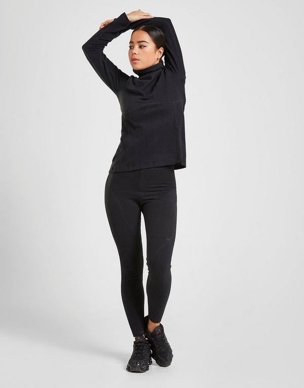 NIKE Sportswear Velour Black Women's