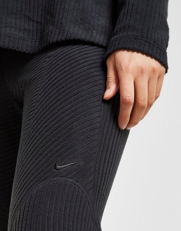 Acherter Noir Nike Collant Training Warm Velours Femme   JD