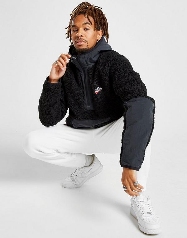 best price pre order buying new Nike Sportswear 1/2 Zip Sherpa Hoodie