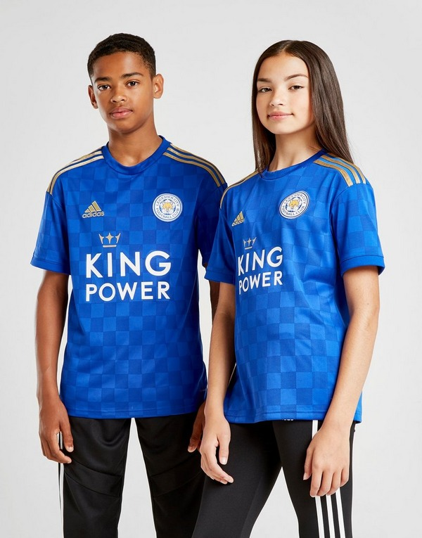 adidas Leicester City FC 19/20 Home Shirt Junior