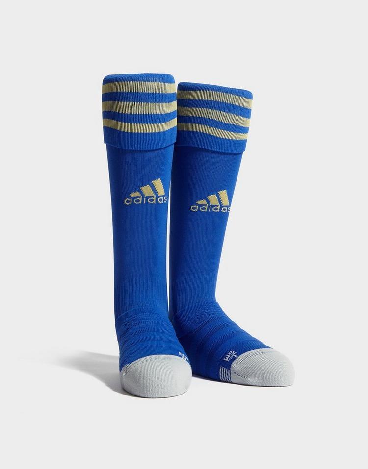 adidas Leicester City FC 19/20 Home Socks Junior