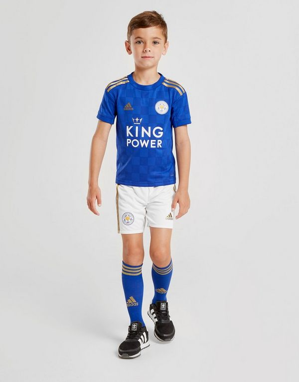 3d0debf16 adidas Leicester City FC 19/20 Home Kit Children | JD Sports