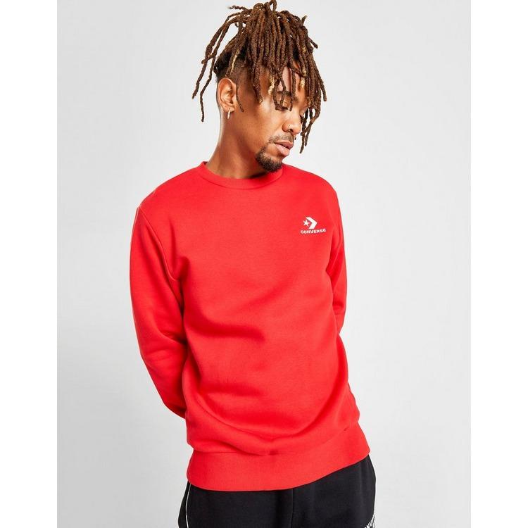 Converse Star & Chevron Crew Sweatshirt