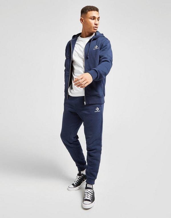 Compra Converse chaqueta con capucha Star Chevron en Azul