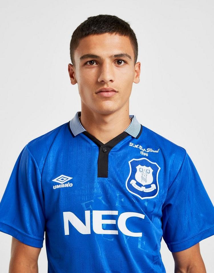 Score Draw Maillot Domicile Everton FC '95 Homme