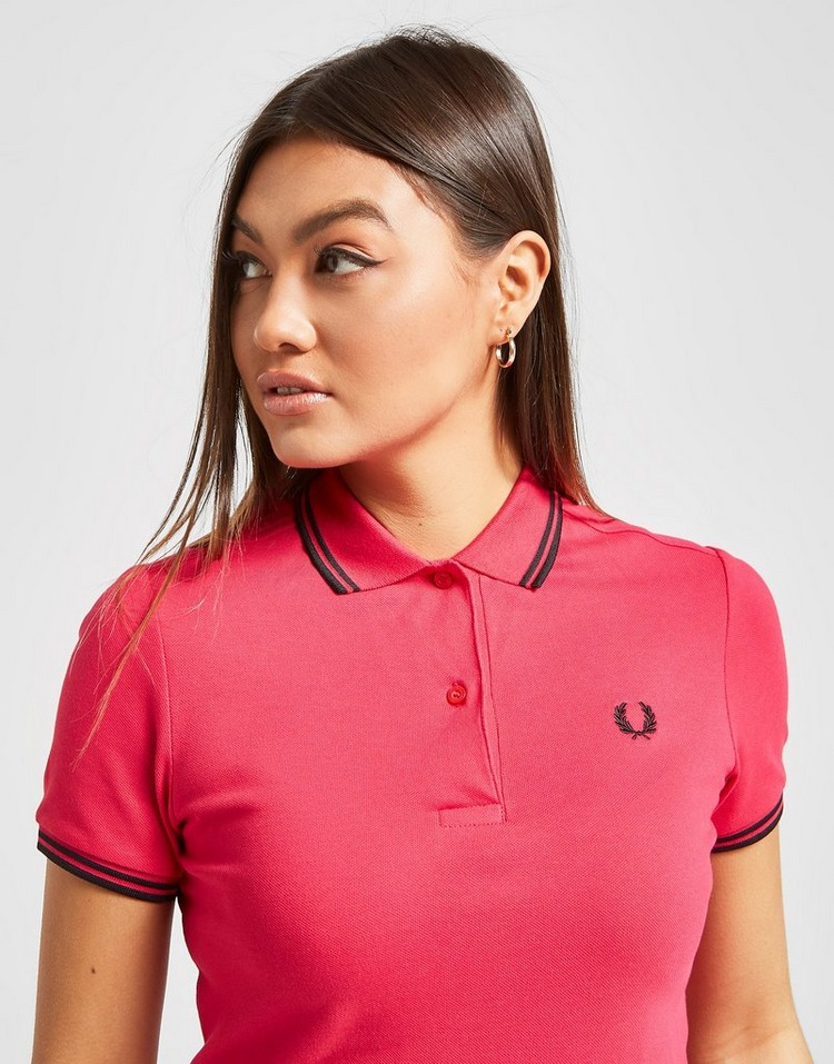 Fred Perry Polo Tipped Femme