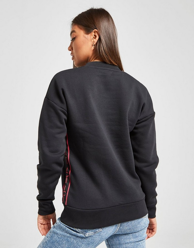 Fred Perry Sweat-shirt Tape Crew Femme