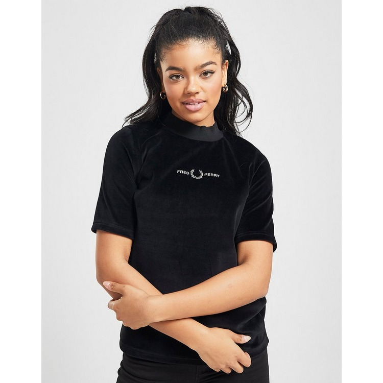 Fred Perry Velour T-Shirt