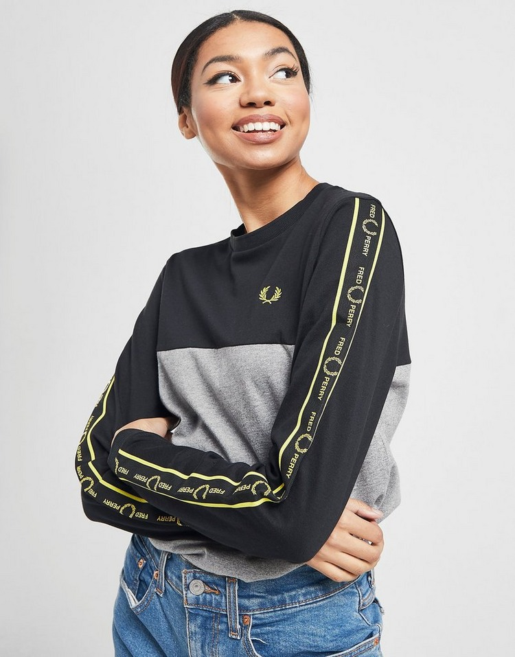 Fred Perry T-shirt Manches longues Femme