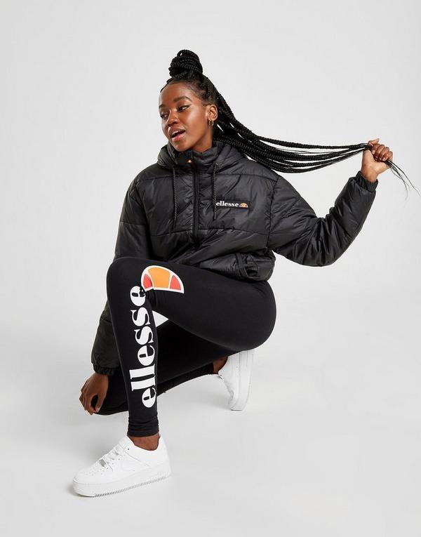 Shop den Ellesse Jacke Damen in Schwarz | JD Sports