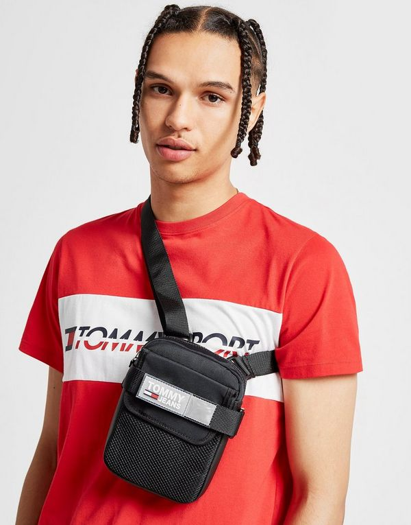 68afd9586a Tommy Jeans Urban Reporter Bag | JD Sports
