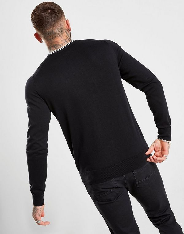 Fred Perry Crew Knit Sweatshirt