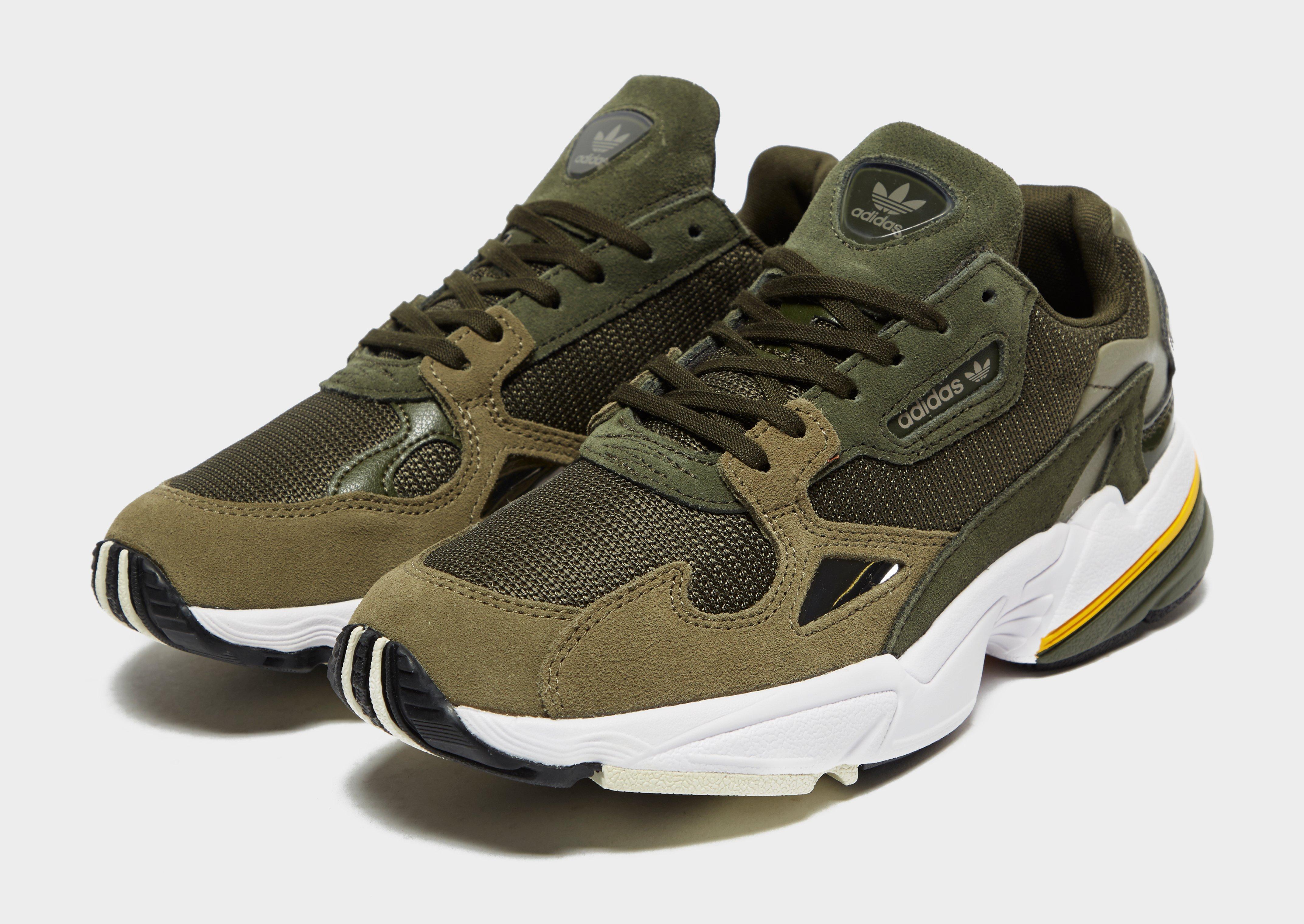Burlas fuerte alabanza  adidas falcon verdes mujer - Tienda Online de Zapatos, Ropa y Complementos  de marca