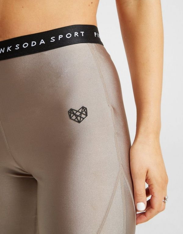 Pink Soda Sport Shine Tights