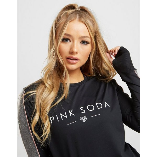 Pink Soda Sport Piped Long Sleeve T-Shirt